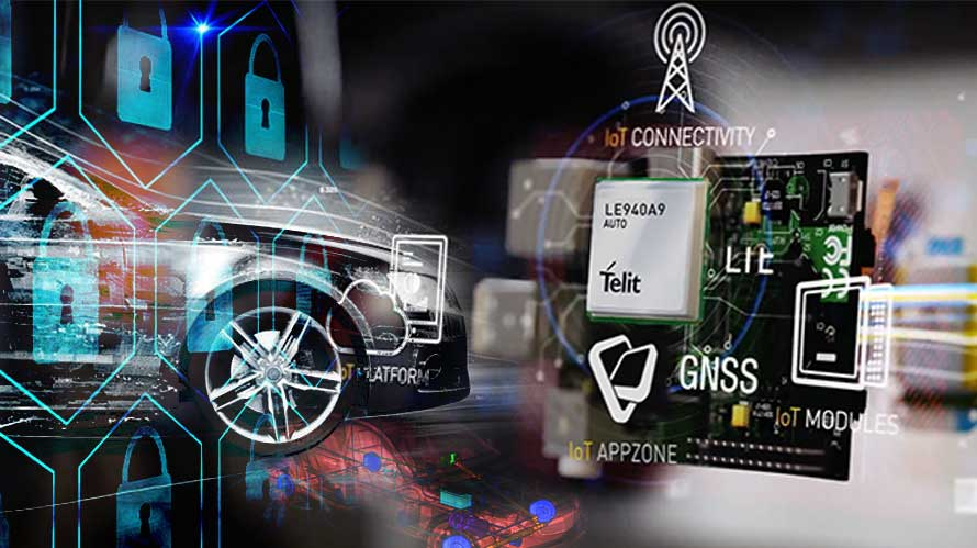 connected cars will respond faster with telits 450 mbps lte advanced automotive grade module