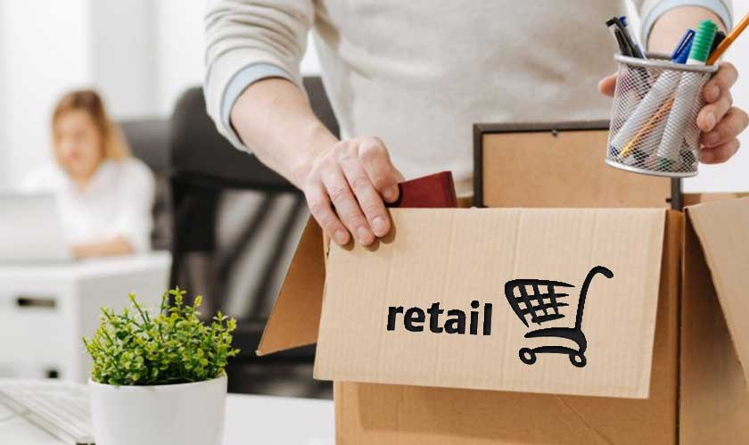 retail job loss in retail industry