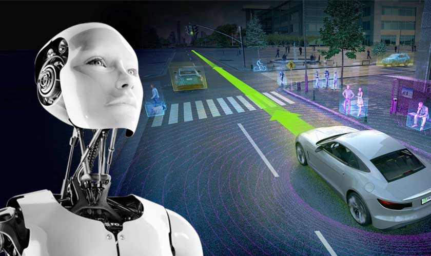 ai robots to control traffic