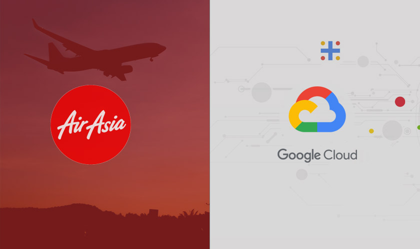 airasia collaborating with google cloud