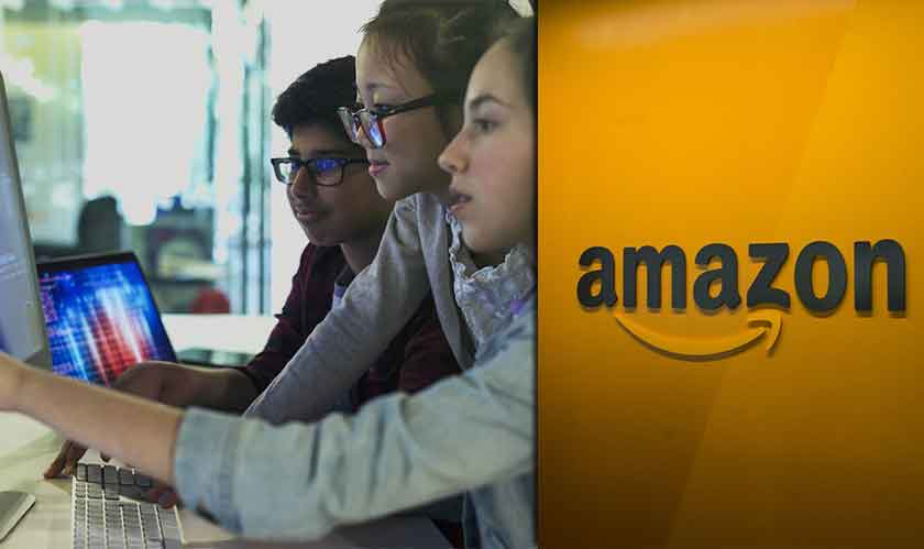 amazon funds computer classes