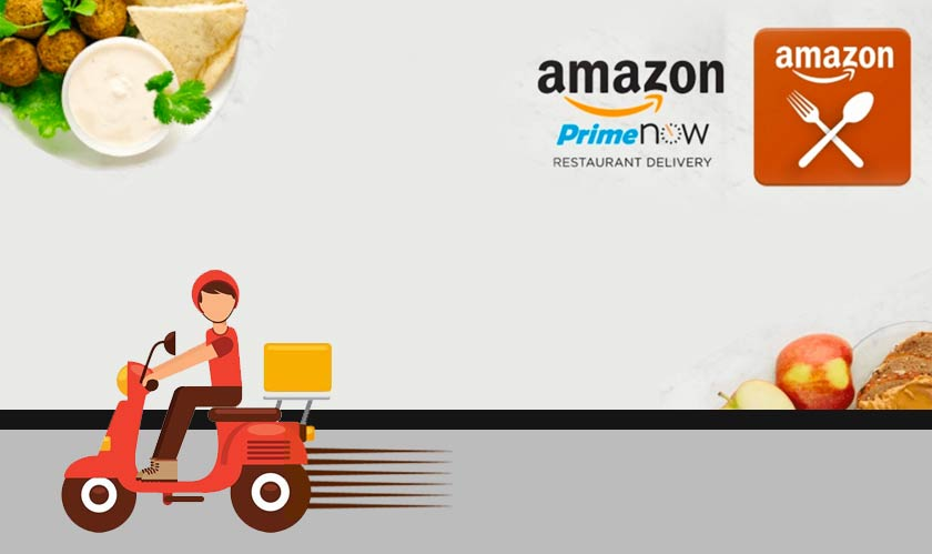 amazon launching food delivery service in india