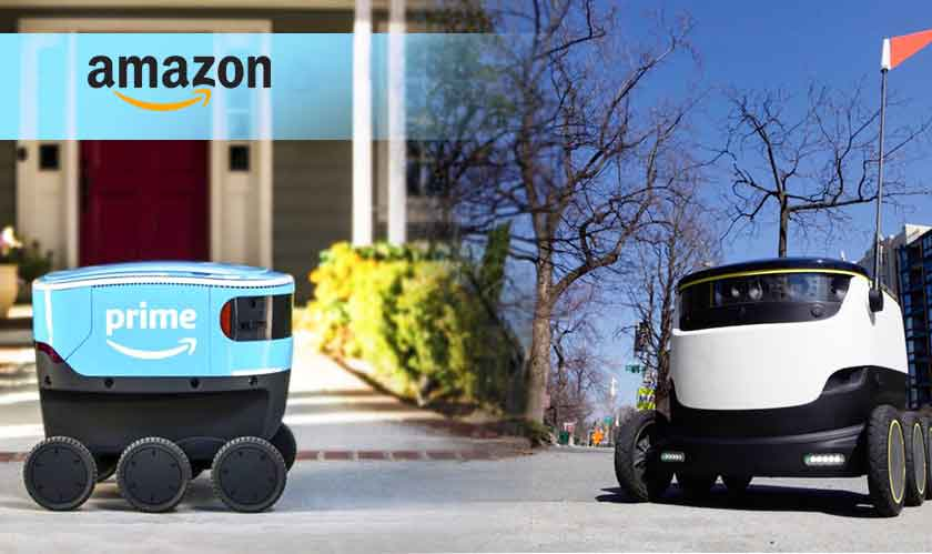 amazon tests delivery robot