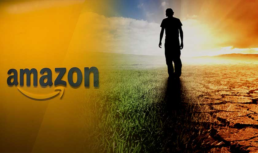amazon works urge climate change action