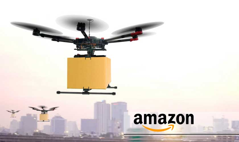 amazons latest patent for last mile delivery is a network of mobile drones