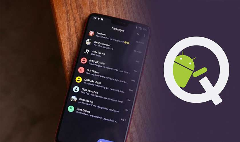 android q leaked first look