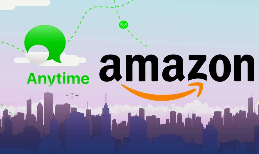 anytime messaging app by amazon