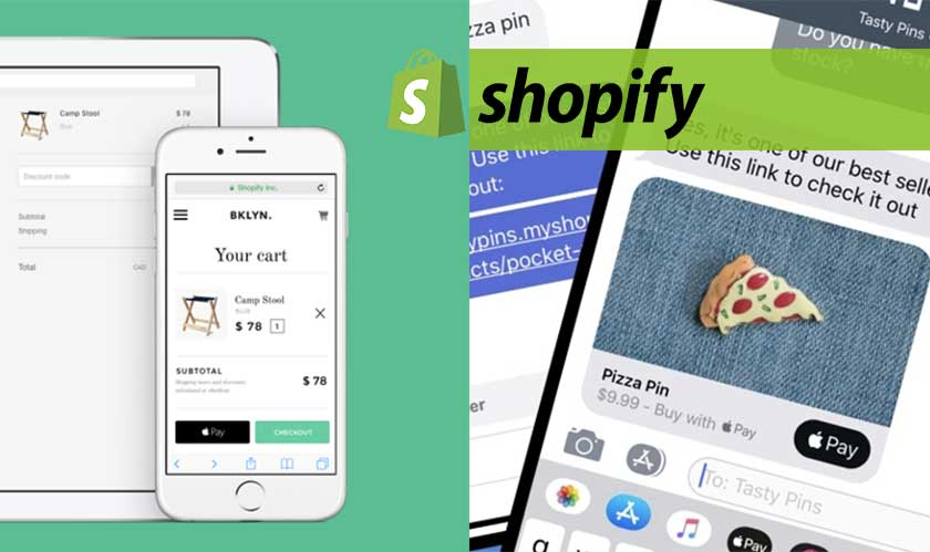 apple imessage business on shopify