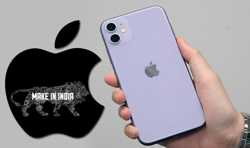 apple manufacturing iphone 11 in india