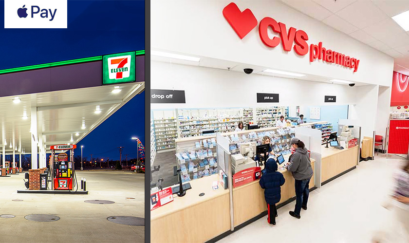 apple pay in 7eleven cvs