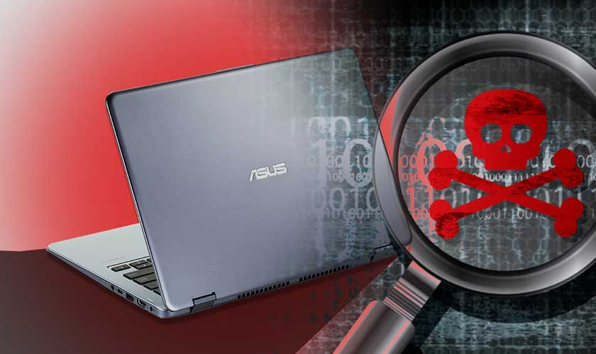 asus systems affected by malware