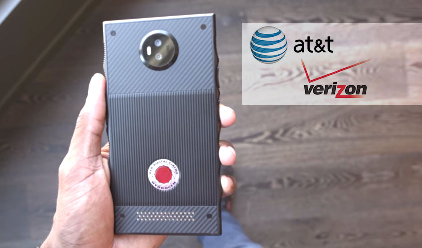 att verizon red hydrogen one