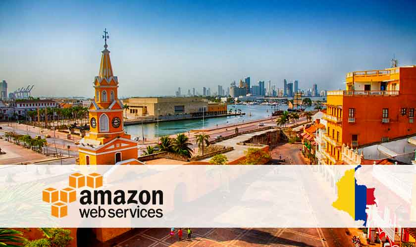 aws infrastructure comes to colombia