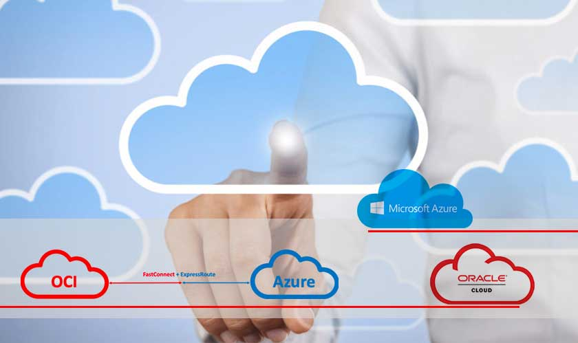 azure oracle cloud connect