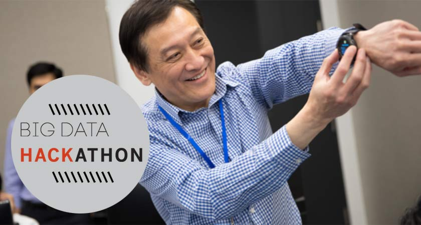 bring data to life in wearable technology insight into bigdata hackathon