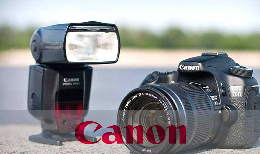 canon speedlite changing flash direction