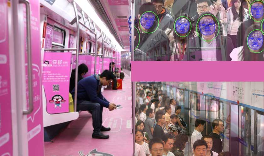 china subway facial recognition tickets