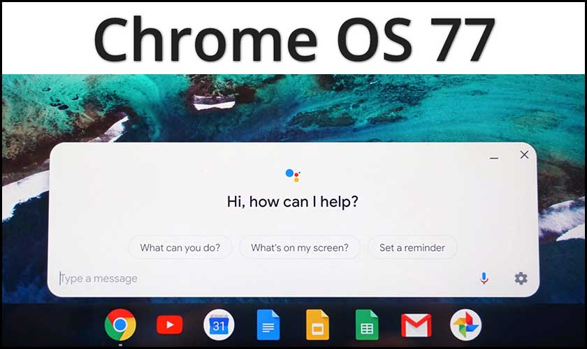 chrome os 77 google software