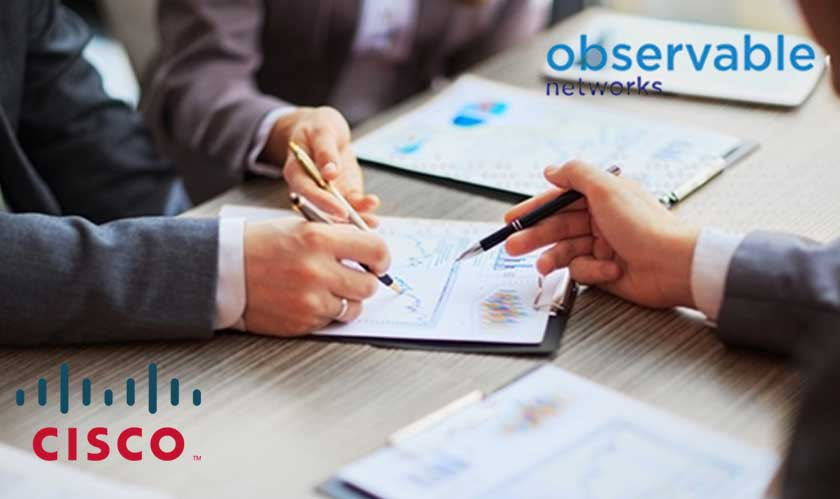 cisco acquires observable networks with an eye on behavior modeling