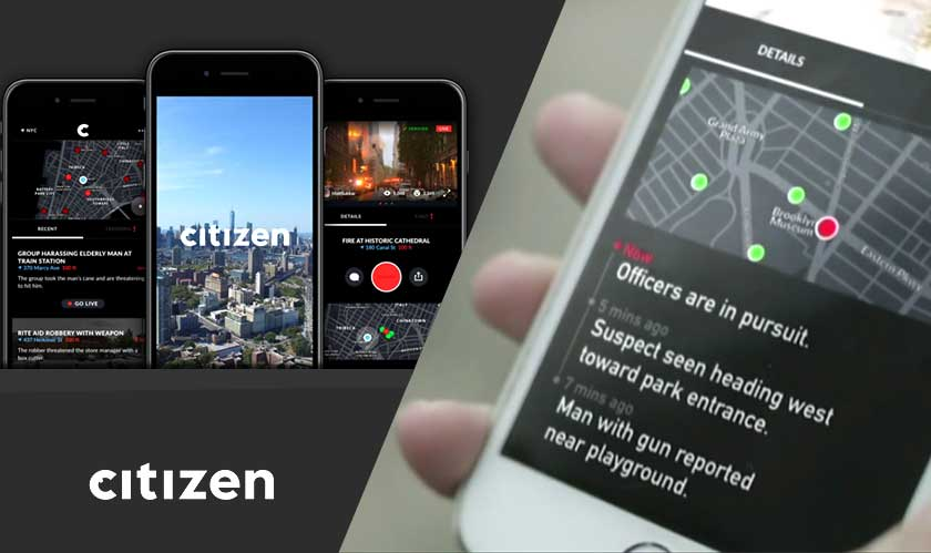 citizen app in baltimore