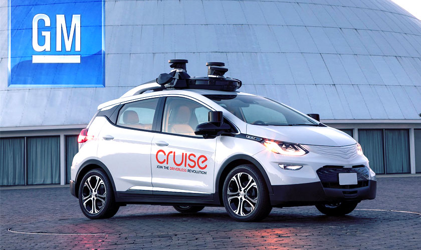 gm cruise buys strobe