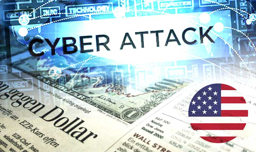 cyber attack of major newspapers