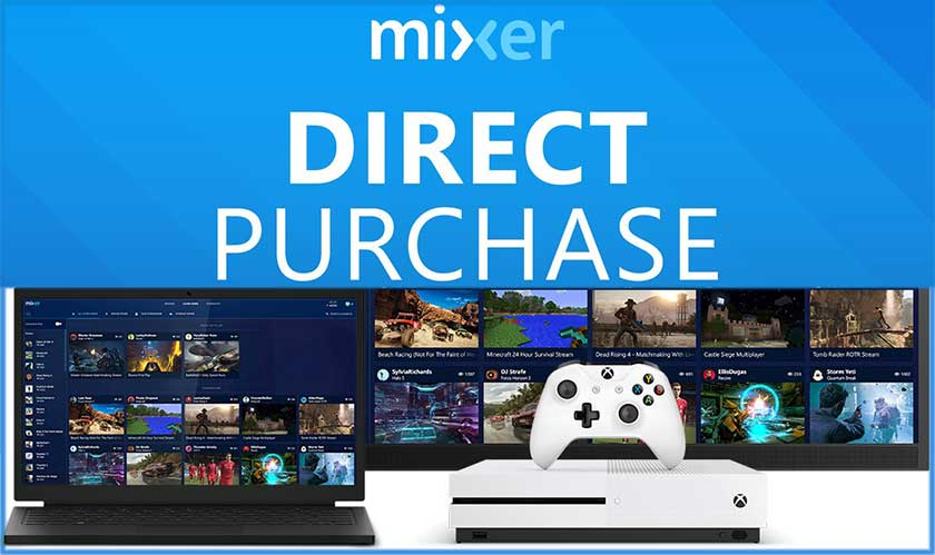 microsoft mixer direct purchase games
