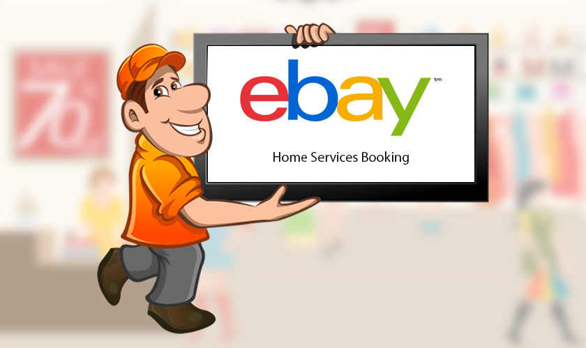 ebay homes services bookings