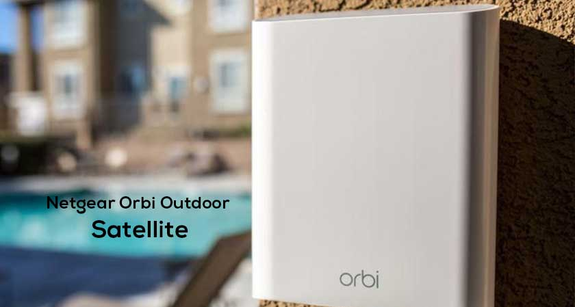 netgear orbi outdoor satellite wifi