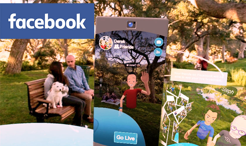 facebookspaces vrhangout videostreaming