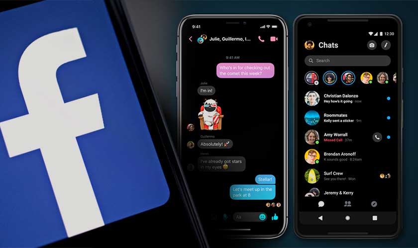 facebook rolls out dark mode