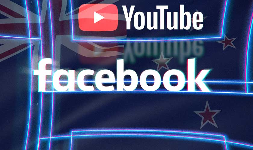 facebook youtube response nz shooting