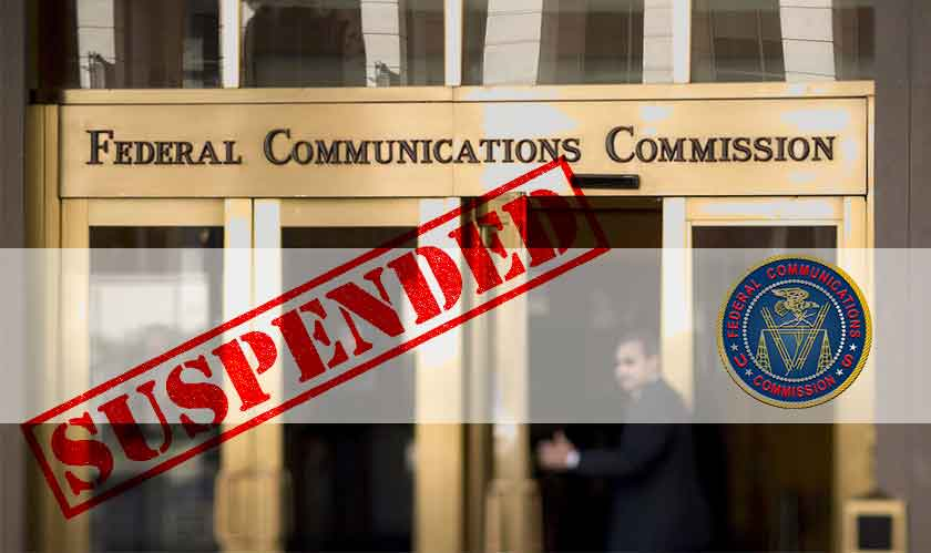 fcc operations suspended
