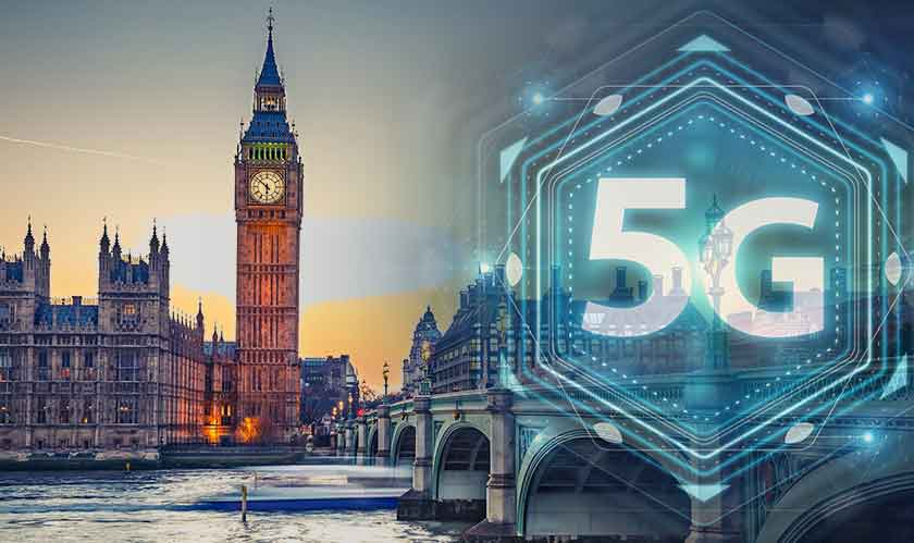 5g debuts in uk