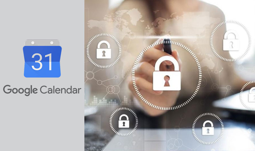 security google calendars privacy