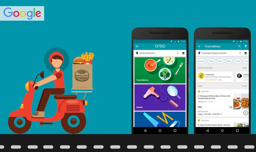 google food delivery without app