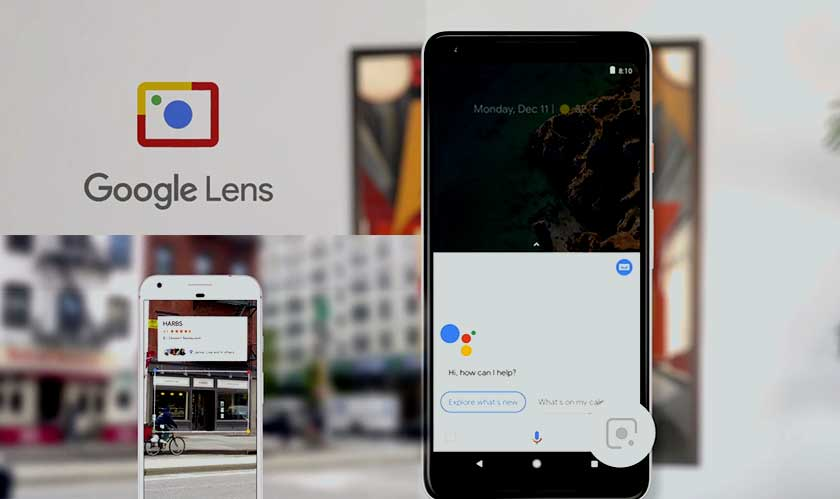 google lens on photos android