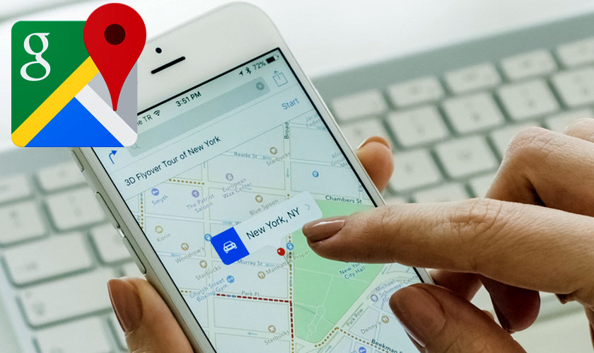 google maps gets a makeover