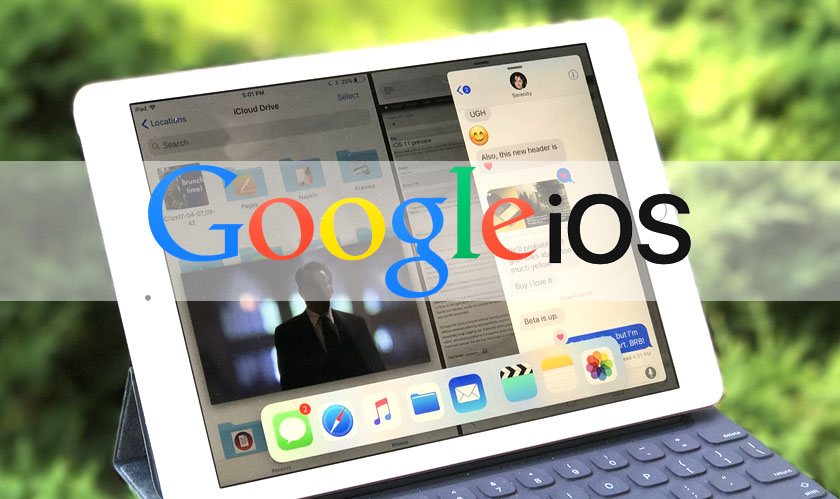 google offers additional reading suggestions on ios