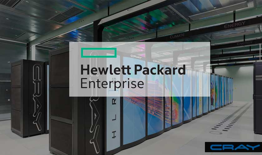 hpe acquires cray supercomputer