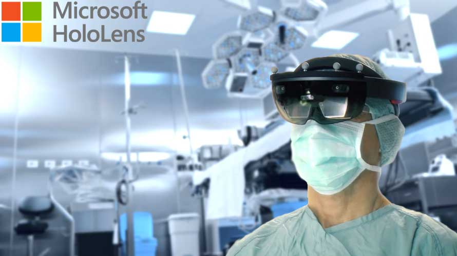 hololens comes to the operation theater