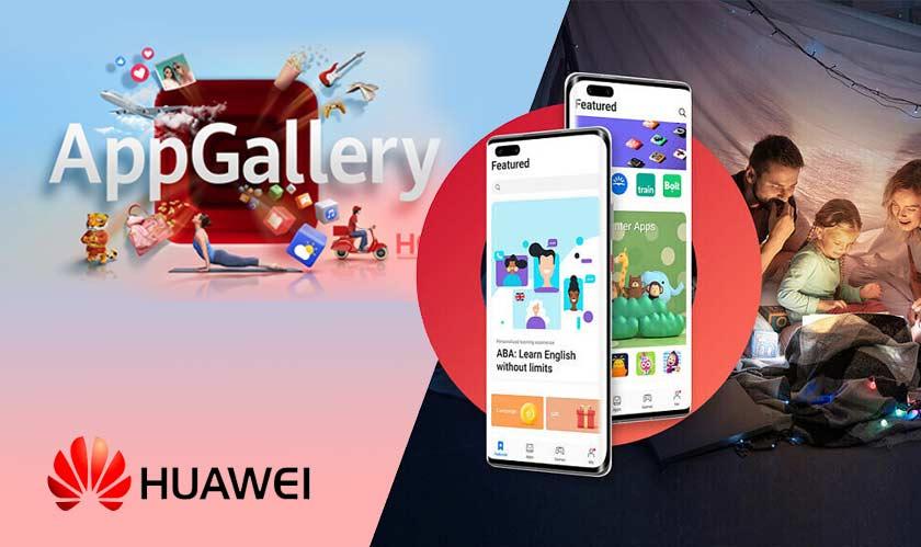 huawei app gallery gets a major redesign and a featured tab