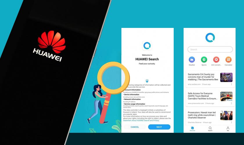 software huawei coming up with its own search engine