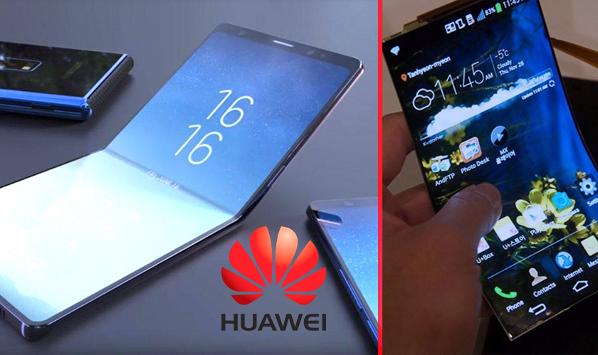 huawei foldable smartphones finishes first
