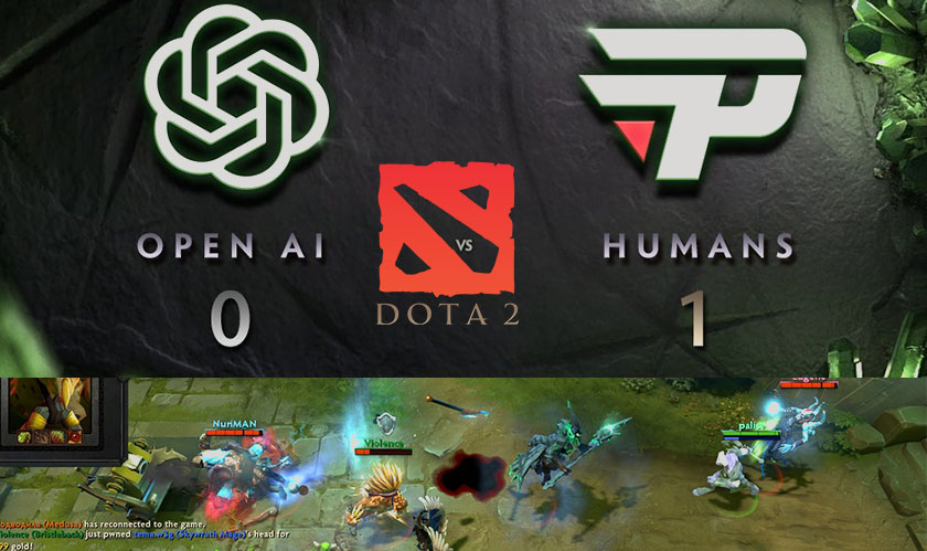 humans beat openai at dota2