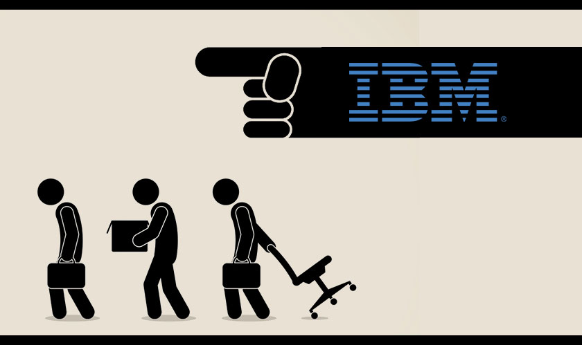 ibm lay off thousands