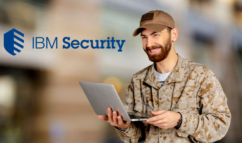 ibm provides free cyber security training to military veterans
