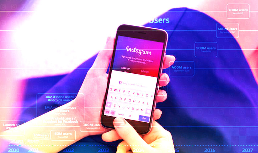 instagram millions of active users