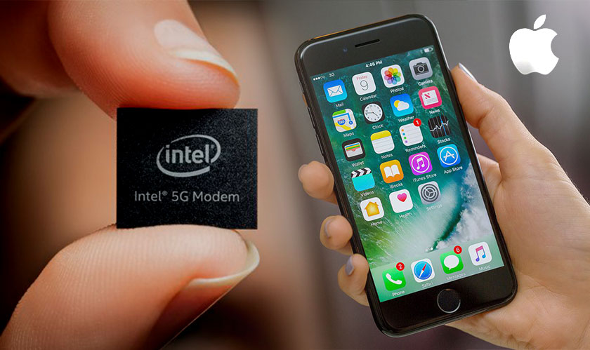 intel 5g modems for iphones