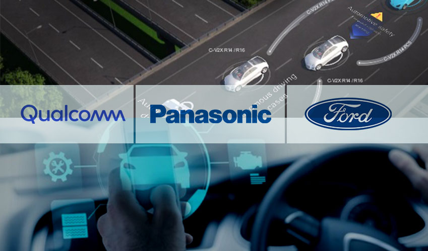 qualcomm panasonic ford makes cv2x